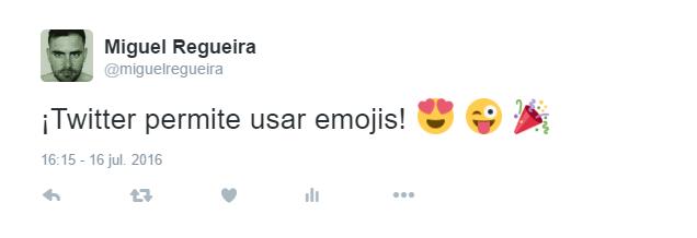 Imagen - Cómo publicar emojis en Twitter
