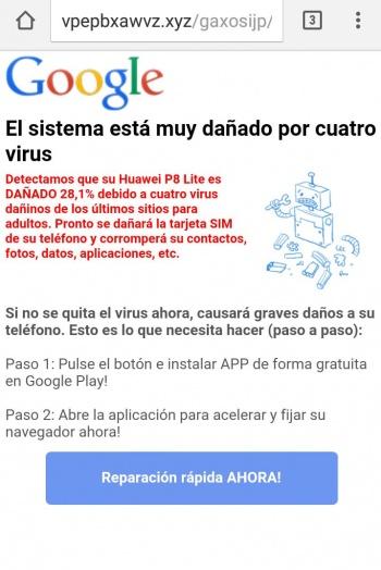 Cuatro virus muy por está el sistema dañado