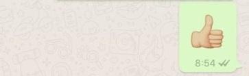 Imagen - Los emojis gigantes llegan a WhatsApp
