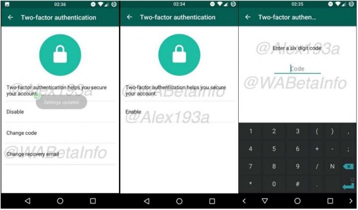 Imagen - WhatsApp prepara la autenticación en dos pasos