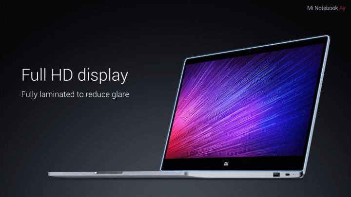 Xiaomi lanza su portátil: Mi Notebook Air