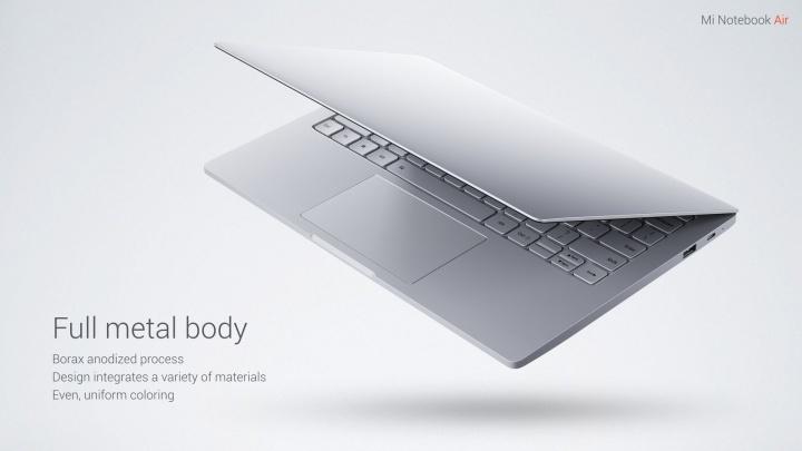 Imagen - Xiaomi lanza su portátil: Mi Notebook Air