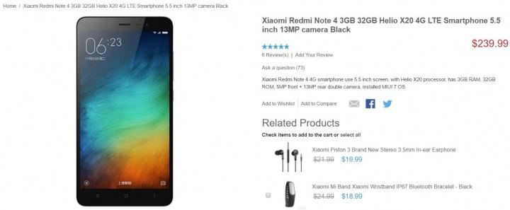 Imagen - Filtradas las características del Xiaomi Redmi Note 4 y Redmi Note 4 Pro