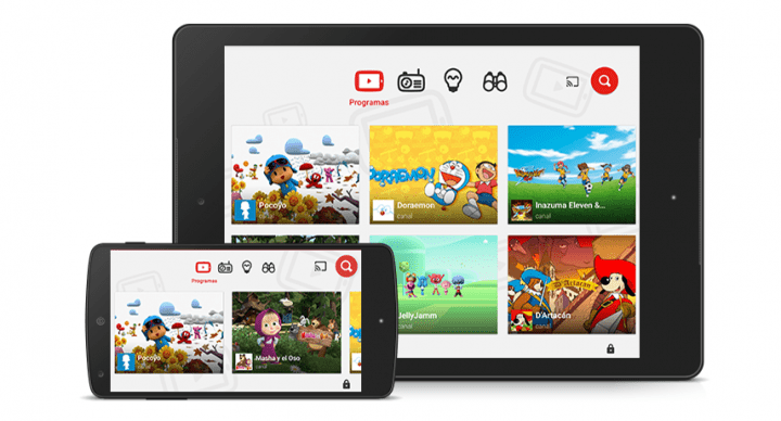 YouTube Kids ya disponible en España