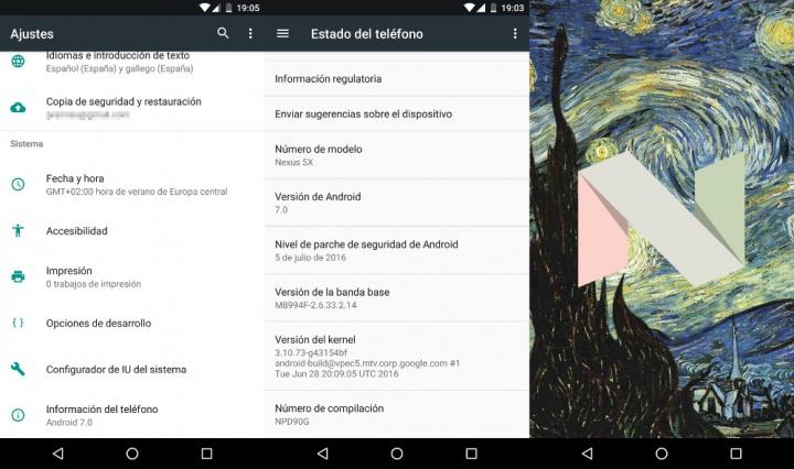 Imagen - Cómo activar el huevo de Pascua de Android 7.0 Nougat