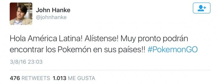 Imagen - Pokémon Go llega a América Latina