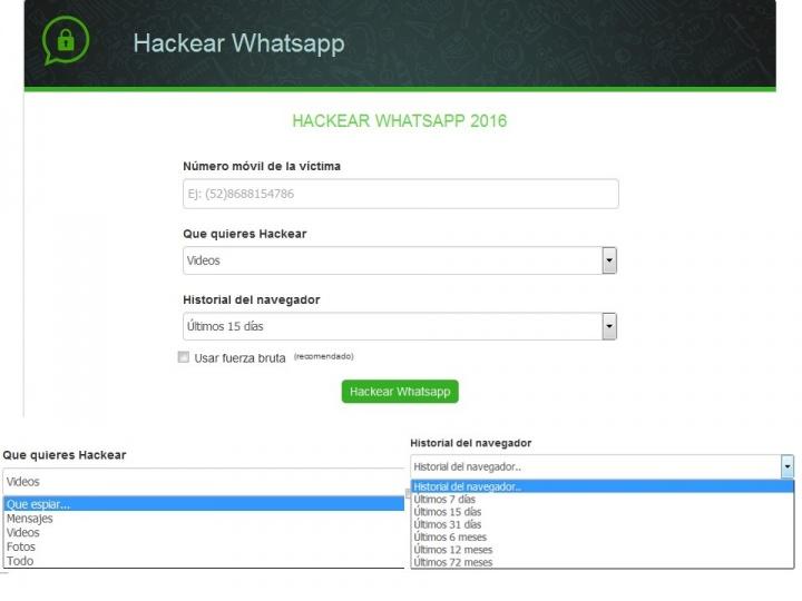 """Imagen - Las webs que prometen """"hackear WhatsApp"""""""