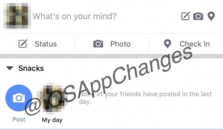 """Imagen - Facebook tendrá """"Snapchat"""" como Instagram muy pronto"""