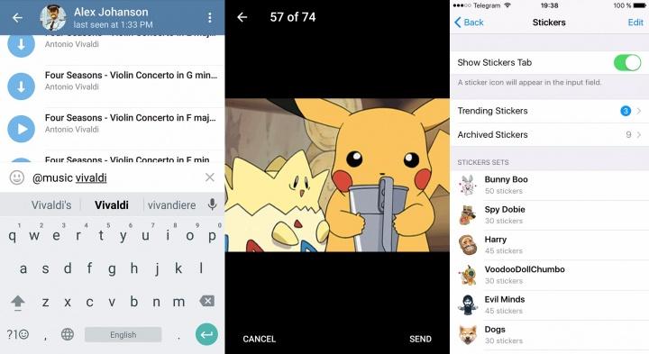 Imagen - Telegram añade stickers destacados, almacenamiento personal y más