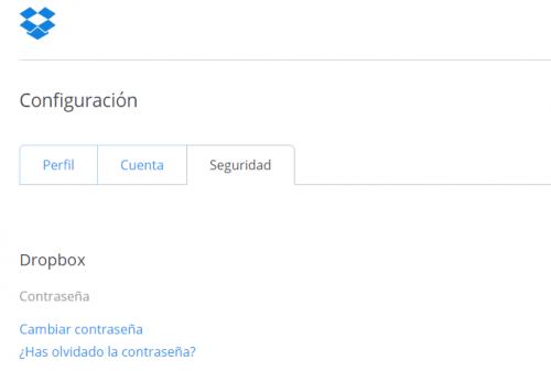 Imagen - Dropbox obliga a determinados usuarios a cambiar su contraseña