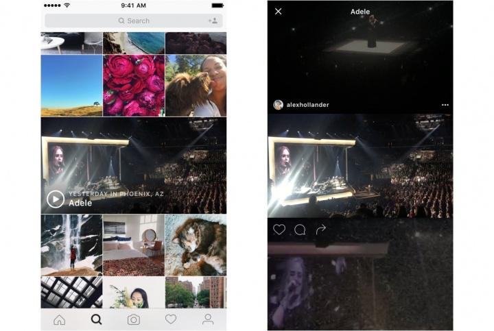 Imagen - Instagram añade un canal de eventos con conciertos y eventos deportivos