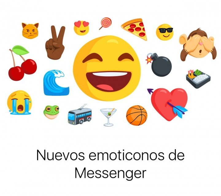 Facebook Messenger ya permite enviar emojis gigantes