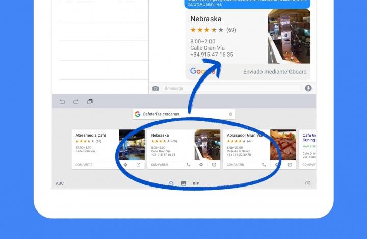 Descarga Gboard para iOS, el teclado de Google con GIFs y emojis