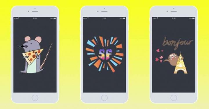 Imagen - Snapchat añade nuevos geostickers