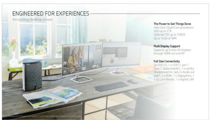 Imagen - HP Pavilion Wave y HP Elite Slice, los nuevos ordenadores de HP