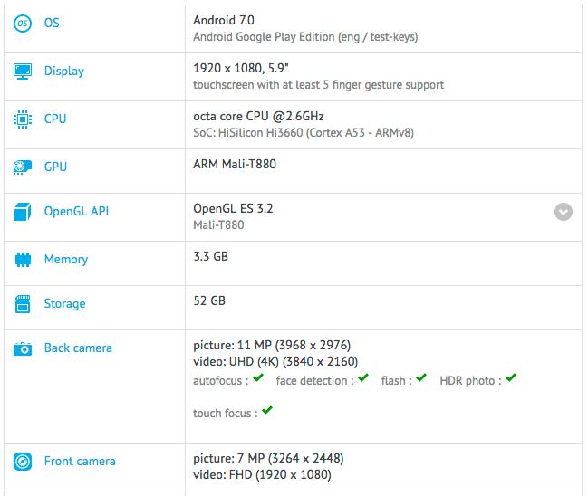 Imagen - Huawei Mate 9, se filtran sus especificaciones