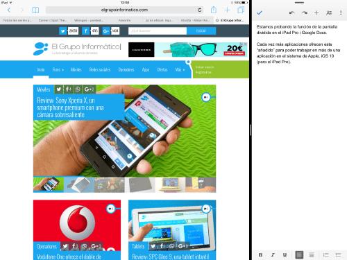 Imagen - Google Docs ya funciona a la perfección en el iPad Pro
