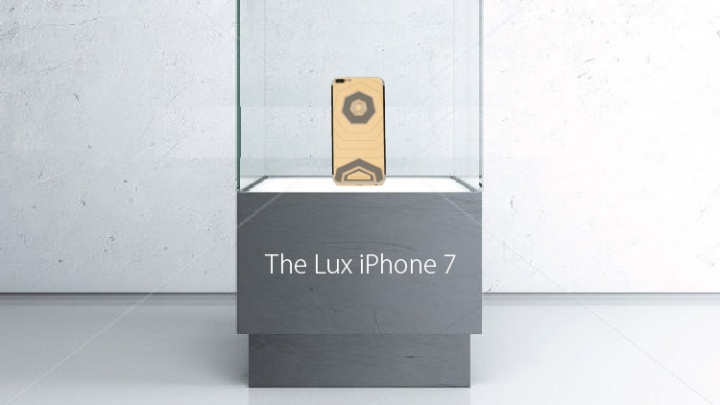 Una versión del iPhone 7 costará 1,3 millones de dólares