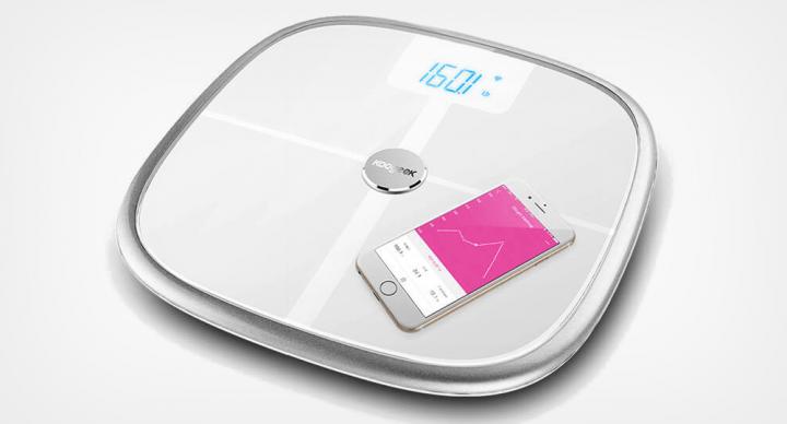Koogeek S1, una báscula inteligente que se sincroniza con tu móvil por Wi-Fi y Bluetooth