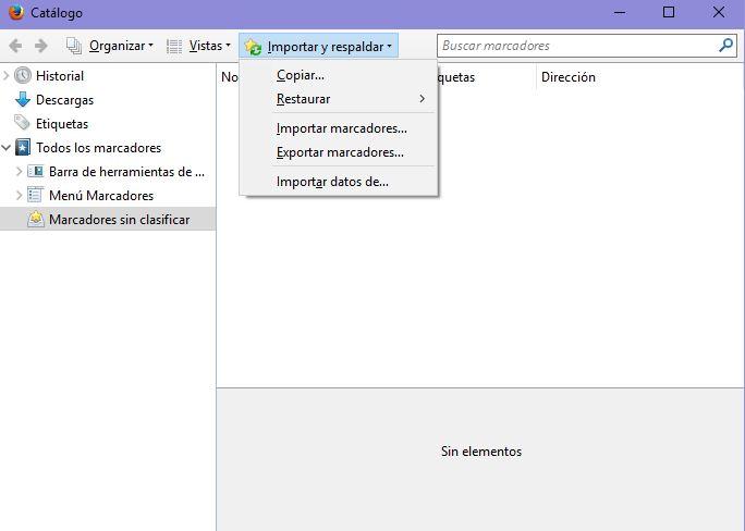 Imagen - Cómo hacer una copia de seguridad de los marcadores de Firefox