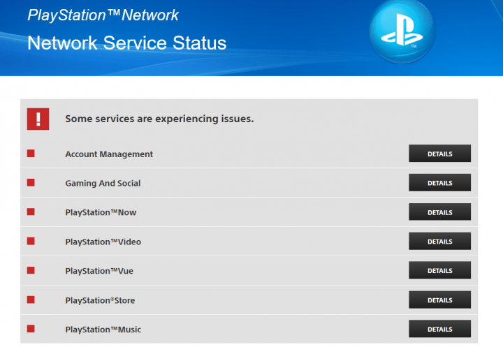 Imagen - PlayStation Network está caído para algunos usuarios