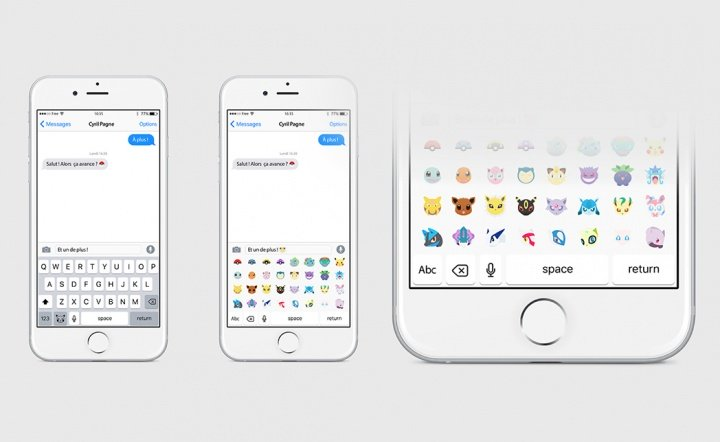 Imagen - PokeMoji, el teclado que permitirá enviar emojis de pokémons