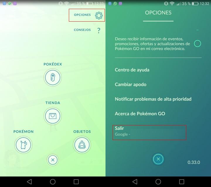 Imagen - Cómo pasar tu cuenta de Pokémon GO a otro móvil