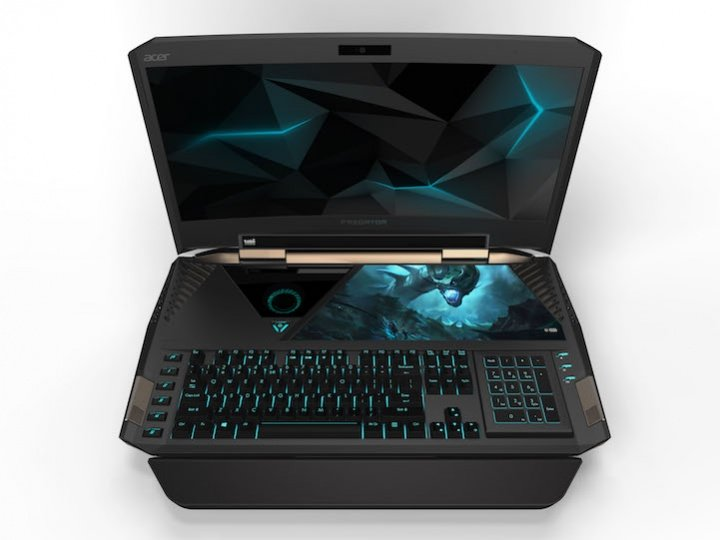 Predator 21 X de Acer, el primer portátil gaming con pantalla curva