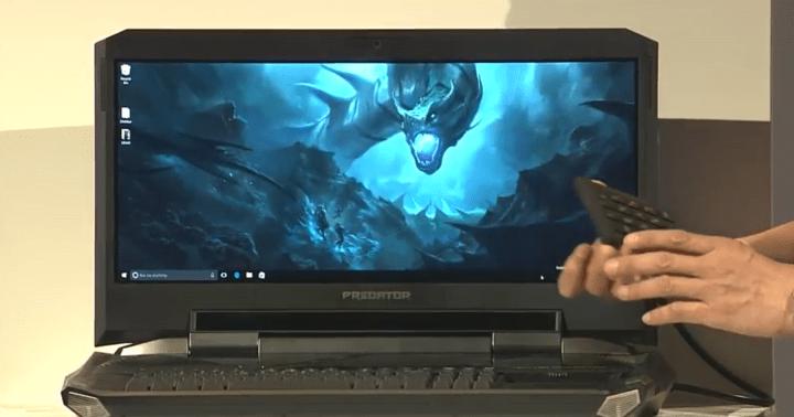 Imagen - Predator 21 X de Acer, el primer portátil gaming con pantalla curva