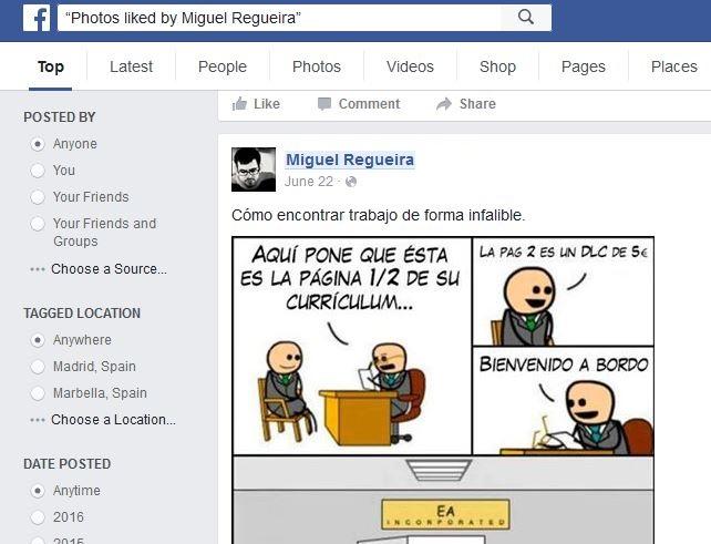 """Imagen - Cómo saber a qué fotos le dan """"Me gusta"""" tus amigos de Facebook"""