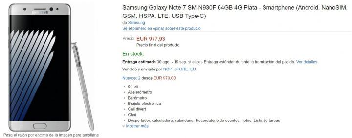 Imagen - Dónde comprar el Samsung Galaxy Note 7