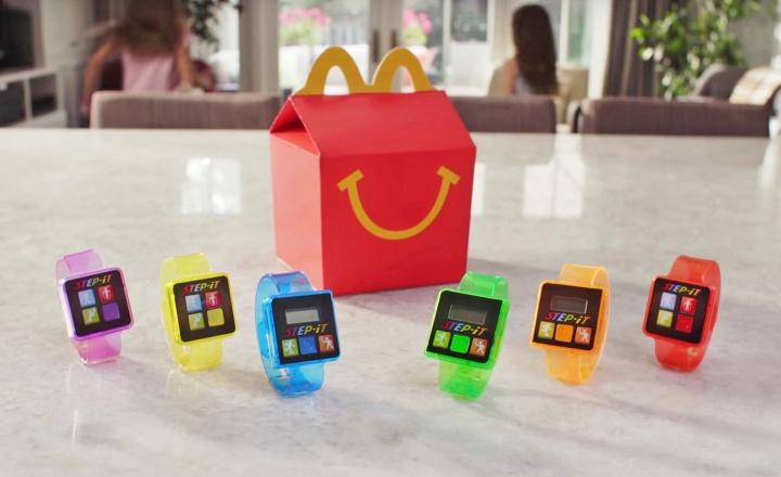 McDonald's regalará pulseras cuantificadoras con los Happy Meal