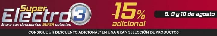 Imagen - El Corte Inglés celebra Super Electro 3 hasta el 10 de agosto