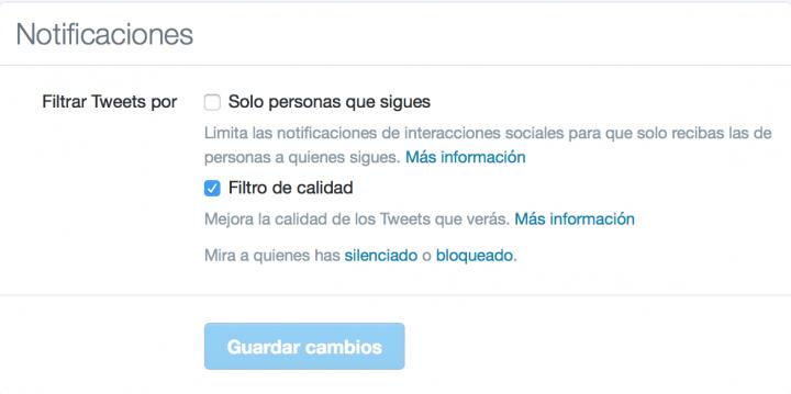 Imagen - Twitter mejora sus notificaciones para evitar a los usuarios abusivos