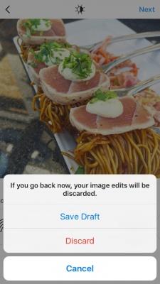 Imagen - Instagram permitirá guardar borradores