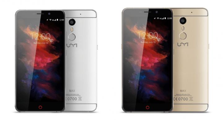 Imagen - Oferta: Umi Max, un smartphone con 3 GB de RAM y batería de 4.000 mAh por 125 euros
