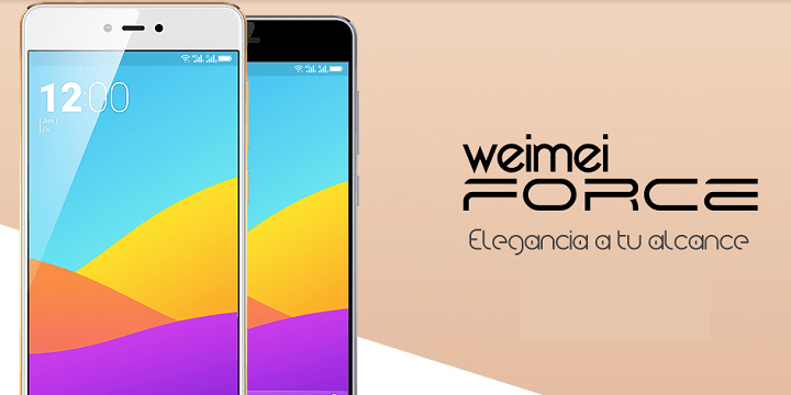 Weimei Force, un gama media con pantalla 2.5D