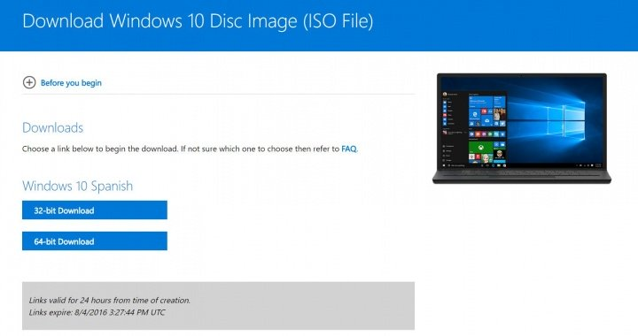 Imagen - Descarga la ISO de Windows 10 Anniversary Update
