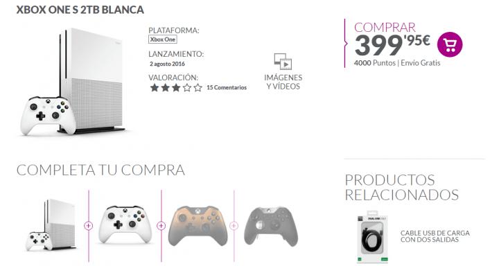 Imagen - Dónde comprar la Xbox One S