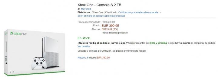 Imagen - Xbox One S ya disponible para comprar en España