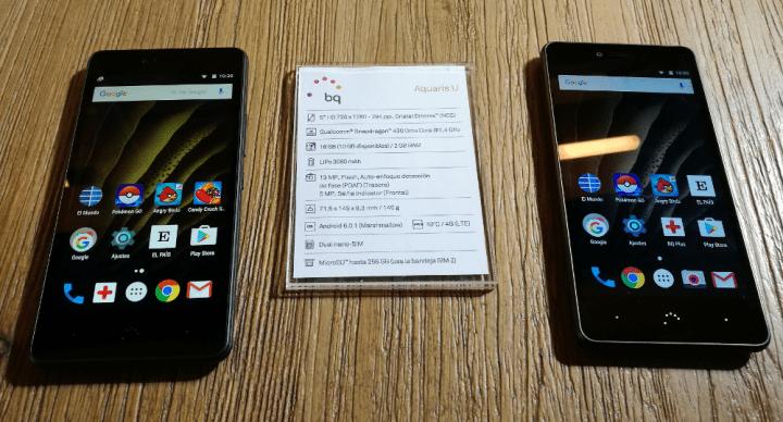 Imagen - BQ Aquaris U, todos los detalles de la nueva familia de smartphones