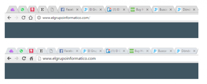 Imagen - Chrome ya cuenta con el nuevo aspecto Material Design