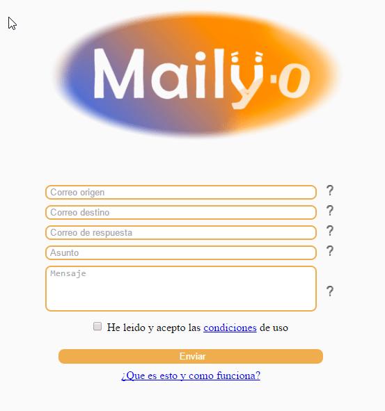 Imagen - Maily·o, la web para gastar bromas por email