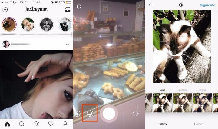 Imagen - Instagram Stories mejora las fotos en condiciones de poca luz