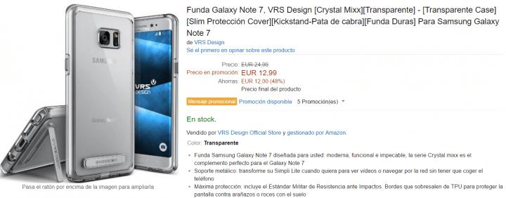 Imagen - 7 fundas para el Samsung Galaxy Note 7