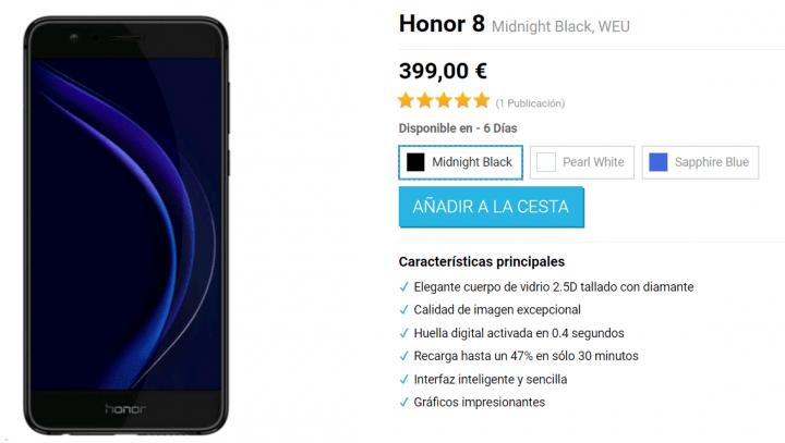 Imagen - Dónde comprar el Honor 8