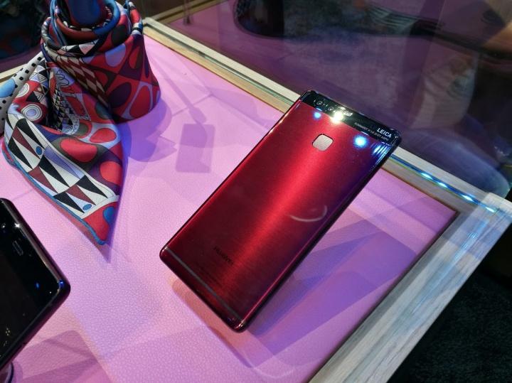 Imagen - Huawei P9 llega en colores rojo y azul