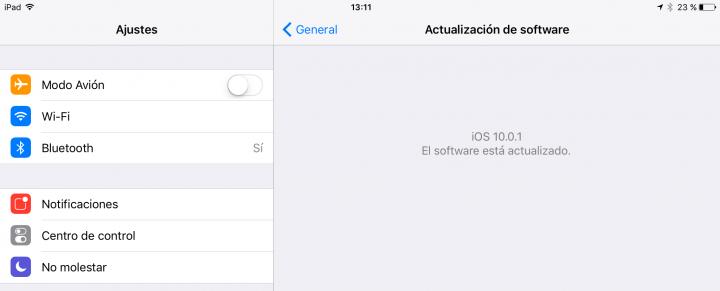 Imagen - iOS 10.0.1 soluciona el bloqueo que producía iOS 10 en algunos dispositivos