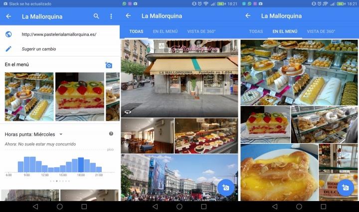 Imagen - Google Maps permitirá ver la comida de los restaurantes