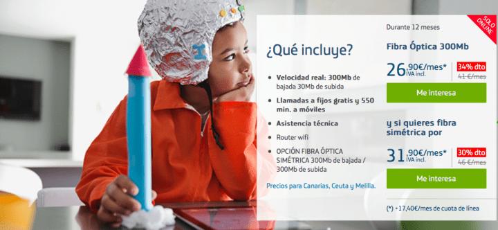 Imagen - Movistar Fibra ofrece nuevos descuentos durante el primer año